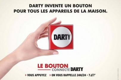 Darty innove en lançant le «Bouton Darty»