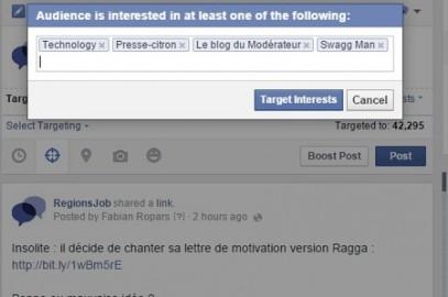 Nouveautés Facebook : ciblage par intérêts, date de fin des posts et nouveaux Insights – Blog du Modérateur