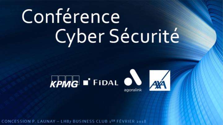 Conférence sur la cyber criminalité